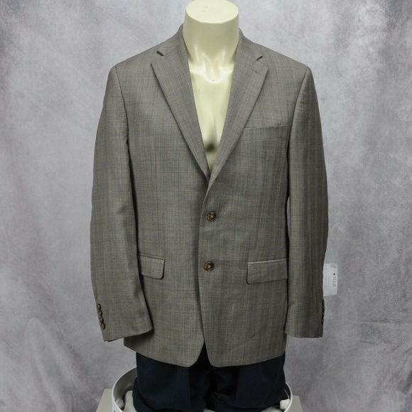 Lauren Ralph Lauren Other - Lauren Ralph Lauren Mens Wool Plaid Two Button Sui